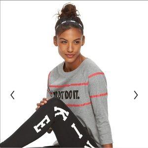 "Women's Nike ""Just Do It"" Raglan Graphic Tee"